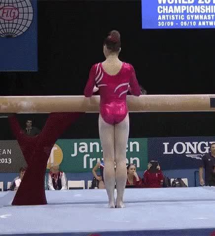 Mounting the beam (1MIC) : McKaylaMaroney GIFs
