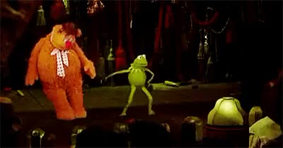 Watch Kermit GIF on Gfycat. Discover more 1980s, 80s, 80s gifs, 80s movies, fozzie bear, gif, gifset, jim henson, kermit, kid movies, miss piggy, movie gifs, muppets, my gif, retro, the muppet movie GIFs on Gfycat