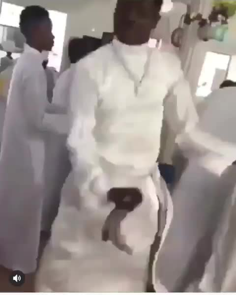 funny_african_pics (official), signsofendtime, 😳😳😳 Man spotted dancing Soapy in Church 😯😯😯 GIFs
