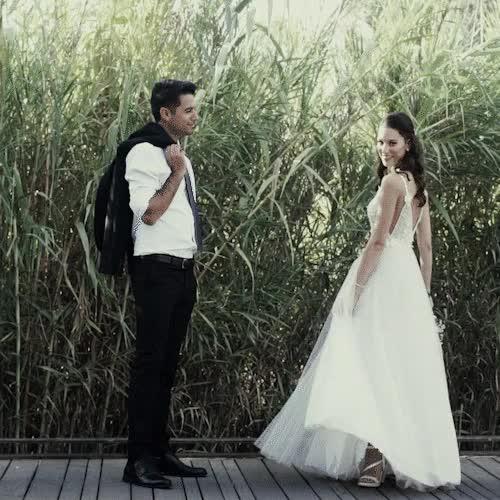 Watch and share Wedding GIFs by JoseFILM  גּוּזְפִילְם  on Gfycat