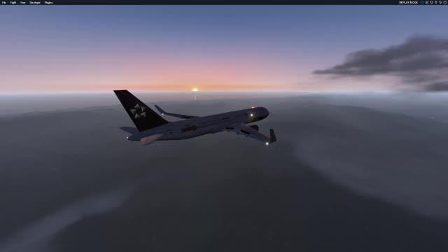 FF767 - Scenic Flight GIF | Find, Make & Share Gfycat GIFs