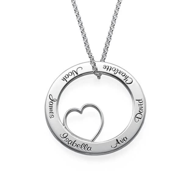 Watch and share Personalized Carrie Necklace GIFs by Livfeel Store on Gfycat