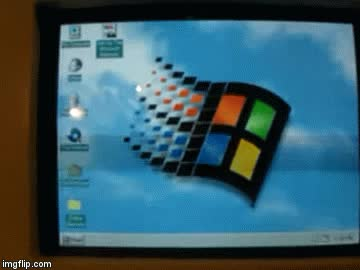 Watch and share Windows 95 Shutdown GIFs by User Badour on Gfycat