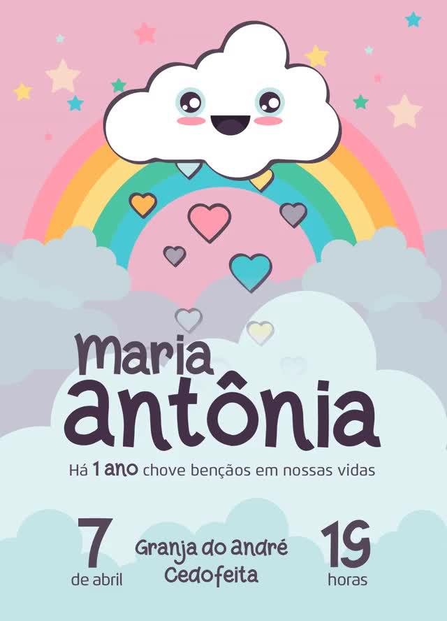 Watch and share Convite-aniversario-maria-antonia-animado GIFs on Gfycat