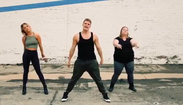 Watch and share Meghan Trainor - Me Too | The Fitness Marshall | Cardio Hip-Hop GIFs on Gfycat