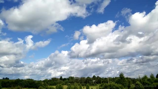 Watch and share Deep Blue Sky And Clouds. Timelapse Ultra HD 4K 2160p GIFs on Gfycat
