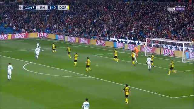 Watch Cristiano Ronaldo Amazing Record Goal   Real Madrid vs Borussia Dortmund 2 0 GIF on Gfycat. Discover more related GIFs on Gfycat