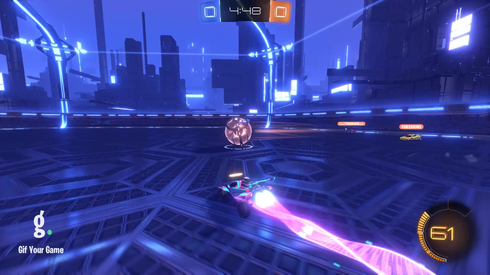 Gif Your Game, GifYourGame, Goal, PrincessWildcat, Rocket League, RocketLeague, Goal 1: PrincessWildcat GIFs