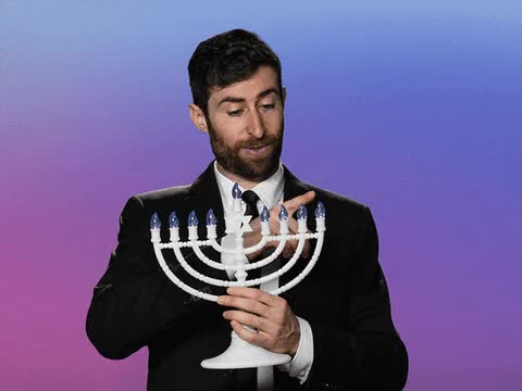 Watch and share Chanukah GIFs and Hanukkah GIFs by Reactions on Gfycat