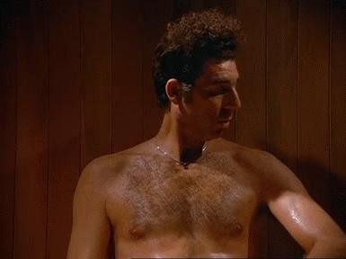 hot, kramer, sauna, seinfeld, Sauna GIFs