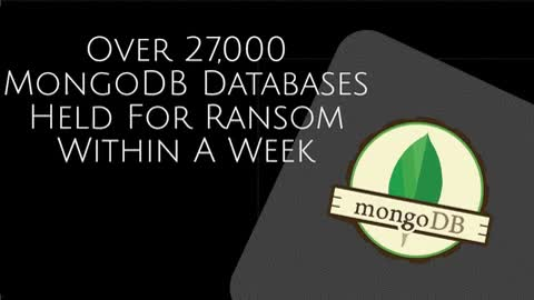 Watch Over 27,000 MongoDB Databases Held For Ransom Within A Week GIF by CR Risk Advisory (@crriskadvisory) on Gfycat. Discover more cr risk advisory, cr risk advisory facebook, information security in gurugram GIFs on Gfycat