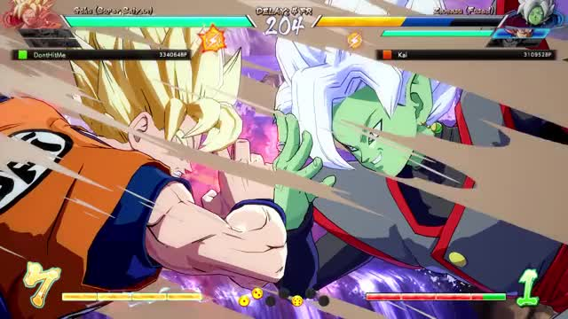 Watch and share Fused Zamasu GIFs and Dbfz GIFs by OxKing8080 on Gfycat