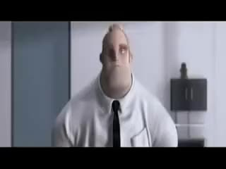 Watch and share The Incredibles Not Happy Bob GIFs on Gfycat