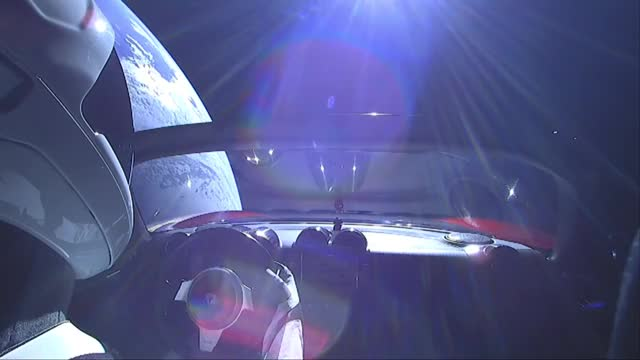 Watch Live Views of Starman - 2 7 2018 GIF by @iricii on Gfycat. Discover more Don't Panic, Falcon Heavy, SpaceX, Starman, Tesla Roadster GIFs on Gfycat