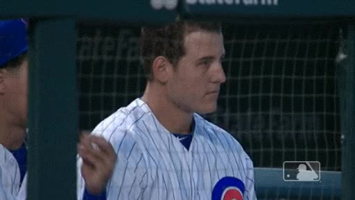 Watch this curated GIF by Amanda Gillispie (@auntiemeat) on Gfycat. Discover more Anthony Rizzo, chicago cubs, clap, clapping, cubs GIFs on Gfycat