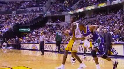 Watch Jermaine O'Neal, Indiana Pacers GIF by Off-Hand (@off-hand) on Gfycat. Discover more 110800 GIFs on Gfycat