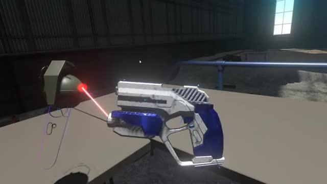 Watch H3VR laser pointer GIF by Takemikazuchi (@takemikazuchi) on Gfycat. Discover more H3VR, VR, vive GIFs on Gfycat