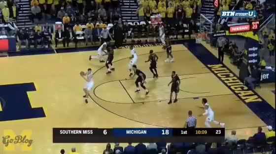 Watch and share Charles Matthews GIFs and Southern Miss GIFs by MGoBlog on Gfycat