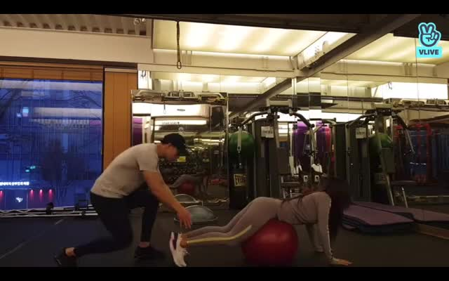 Watch and share Hyolin-workout1 GIFs on Gfycat
