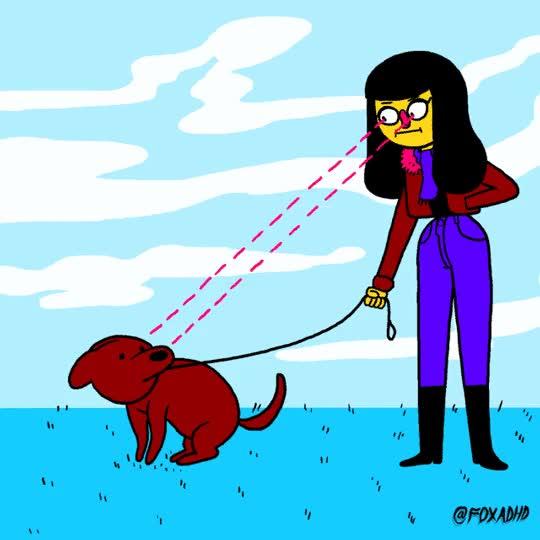 Watch and share Walk The Dog GIFs on Gfycat