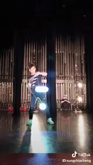 Watch and share LED Diabolo Juggling  GIFs by LimeLights  on Gfycat