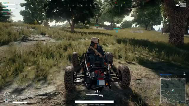 Watch Hitch Hiker GIF by Super Duper Shark (@superdupershark) on Gfycat. Discover more battlegrounds, playerunknown, pubattlegrounds, pubg, roadkill GIFs on Gfycat