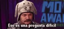 Watch and share Eso Es Una Pregunta Dificil GIFs on Gfycat