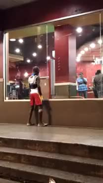Watch Uncle Ellis dances at KFC in Trinidad GIF on Gfycat. Discover more related GIFs on Gfycat