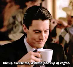 Watch and share Kyle Maclachlan GIFs and Dale Cooper GIFs on Gfycat