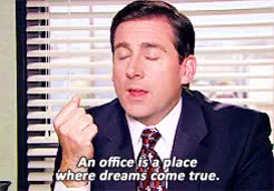 Watch and share Michael Scott GIFs and Youre Welcome GIFs on Gfycat
