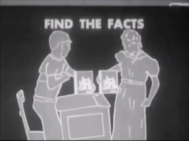 1950, black and white, disputes, fact finding, facts, fake news, film, find the facts, marc rodriguez, odd, school, short film, vintage, Find the Facts: Via Ways to Settle Disputes (1950) Marc Rodriguez GIFs