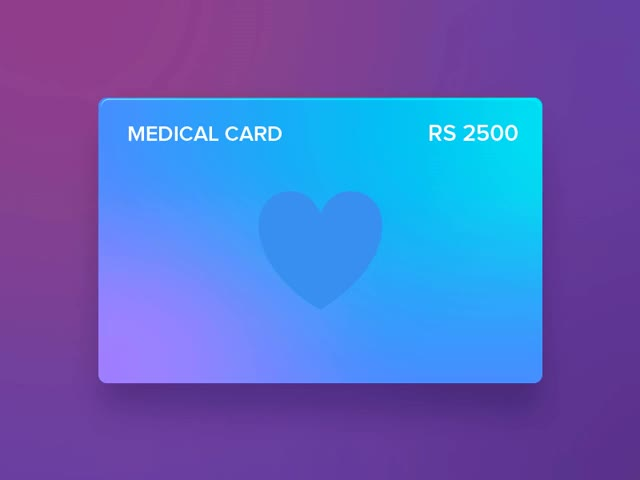 Watch Another simple animation for active card. GIF on Gfycat. Discover more related GIFs on Gfycat