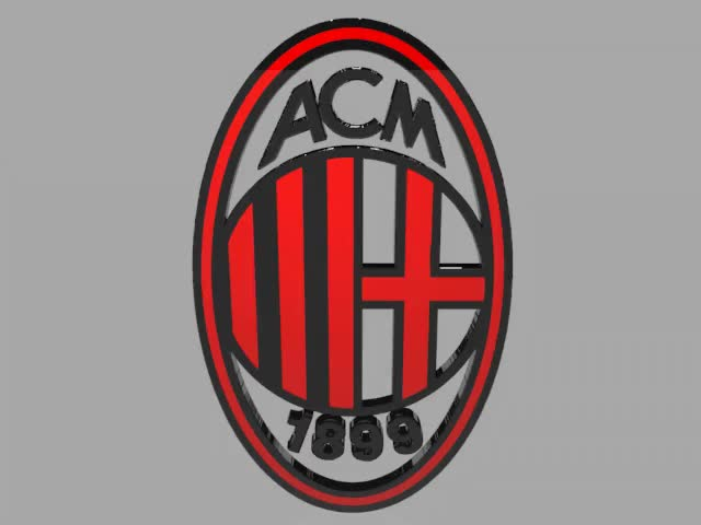 Watch and share AC-Milan-Logo-Animation By PlaviDemon  Watch Digital Art / Animation GIFs on Gfycat