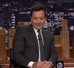 Watch and share Jimmy Fallon GIFs and Wondering GIFs by Reactions on Gfycat