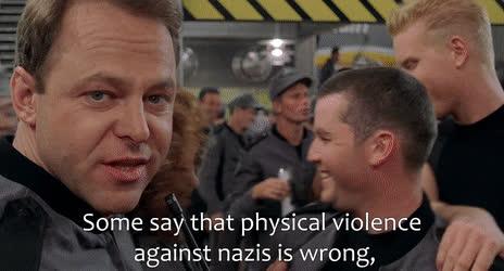 Comrade Rico tells liberals how to react to Nazi punching • r/FULLCOMMUNISM GIFs