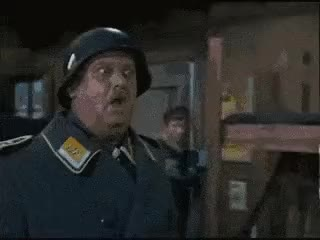 Watch and share Sgt Schultz GIFs on Gfycat