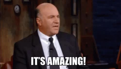 Watch this amazing GIF on Gfycat. Discover more Kevin O'Leary, amazed, amazing, holy cow, no way, whoa, woah, wow GIFs on Gfycat