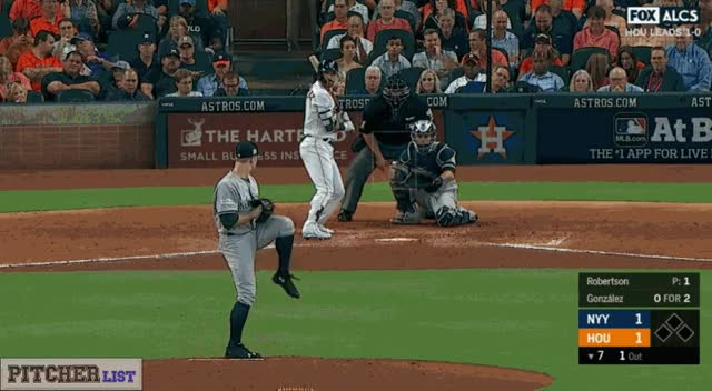 Watch and share David Robertson CBs 10-14-17 GIFs on Gfycat