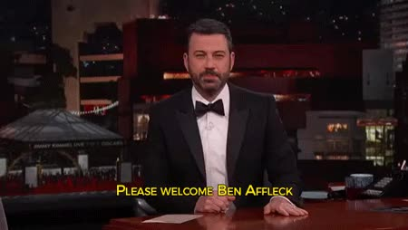 Watch and share Jimmy Kimmel GIFs and Ben Affleck GIFs by Reactions on Gfycat