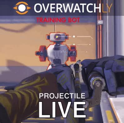 PSA: PTR Projectile hitbox size drastically reduced : OverwatchUniversity GIFs