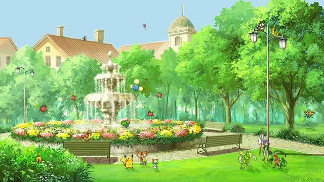 Watch and share Pokemon Background GIFs and Pokemon Sprite Gif GIFs by Loupi on Gfycat