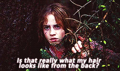 Watch and share Emma Watson Birthday April Hair Amandaseyfried GIFs on Gfycat