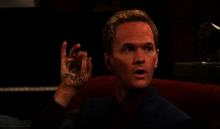 Watch and share Youre Jerk Barney Stinson Neil Patrick Harris GIFs on Gfycat