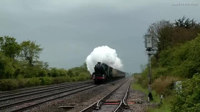 Watch and share Steam Trains At Speed GIFs on Gfycat