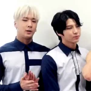 Watch Thisisjustforfunval GIF on Gfycat. Discover more *sigh*, Excuse my bias, I'm just feeling a little bummed that I can't see them next week, Leo, My biases, My gifs, My ship is showing, OH! they both spoke English and Leo spoke a lot and, Orlando Showcase, Ravi, So I gif, Taekwoon, They're just so cute, VIXX, WonTaek, Wonshik GIFs on Gfycat