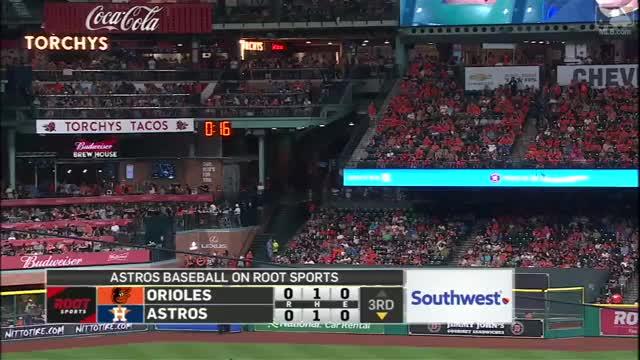 Watch and share Astros Fans Wear Gurriel Wigs GIFs on Gfycat