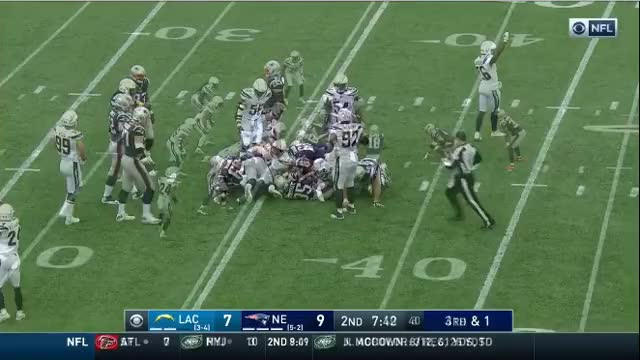 Watch and share 8 Gillislee Converts On 4th Down.mov GIFs on Gfycat