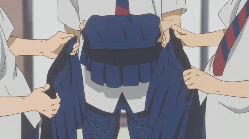 AnimeFunny, animegifs, High level betrayal [Danshi Koukousei no Nichijou] (reddit) GIFs