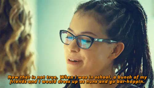 Watch things to see, people to do GIF on Gfycat. Discover more actual quote, alison hendrix, annelle dupuy desoto, cophine, cosima niehaus, delphine cormier, my edit, ob crossover, orphan black, steel magnolias GIFs on Gfycat