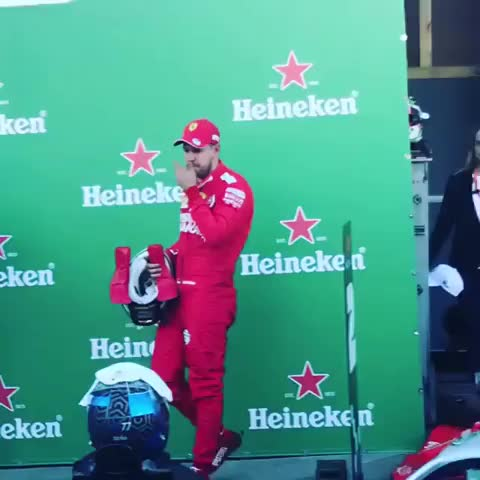 Watch and share Inspector Seb Is Back! Formula1 GIFs on Gfycat